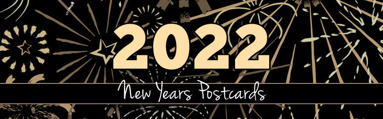 New Years Postcards
